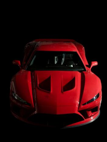 falcon f7 red front view - Top 10 Fast Cars In The World 2012