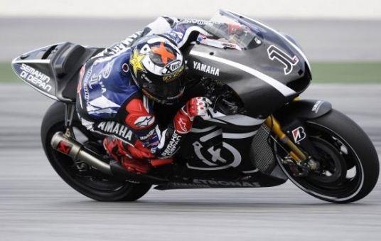 Yamaha M1 2012 Moto GP bike