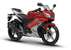 Yamaha R15 Version 2.0 Sunset red color
