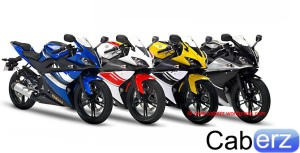 Yamaha YZF R125 Side By side
