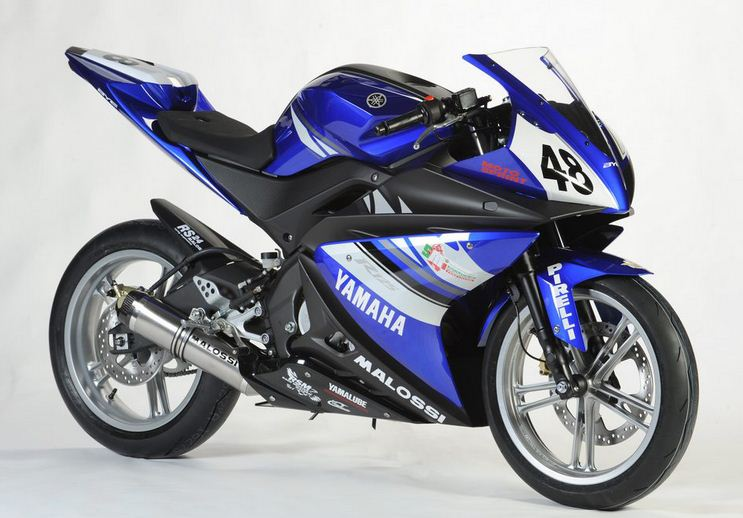 Yamaha YZF R125 Racing bikesYamaha Racing Bike