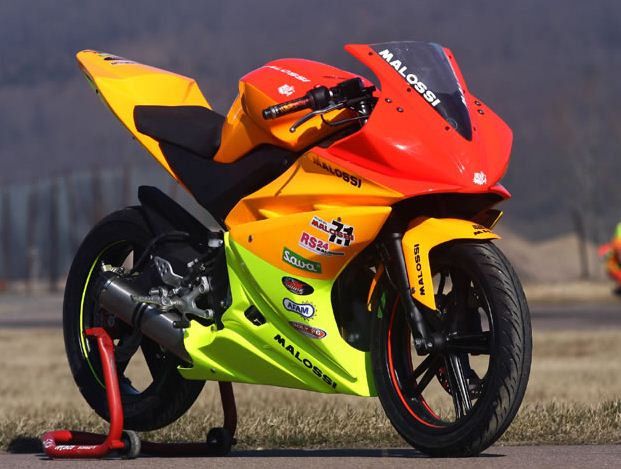 Yamaha R125 Malossi Racing bikeYamaha Racing Bike