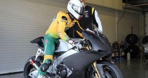 ART (Aprilia Racing Technology)CRT 2012 Moto GP bike with Matta pissani