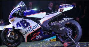 Cardion AB Moto racing Satellite Ducati Desmosedici GP 12 bike during presentation