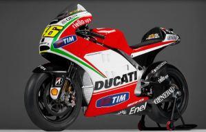 Valentino Rossi's Ducati Desmosedici GP 12 Bike