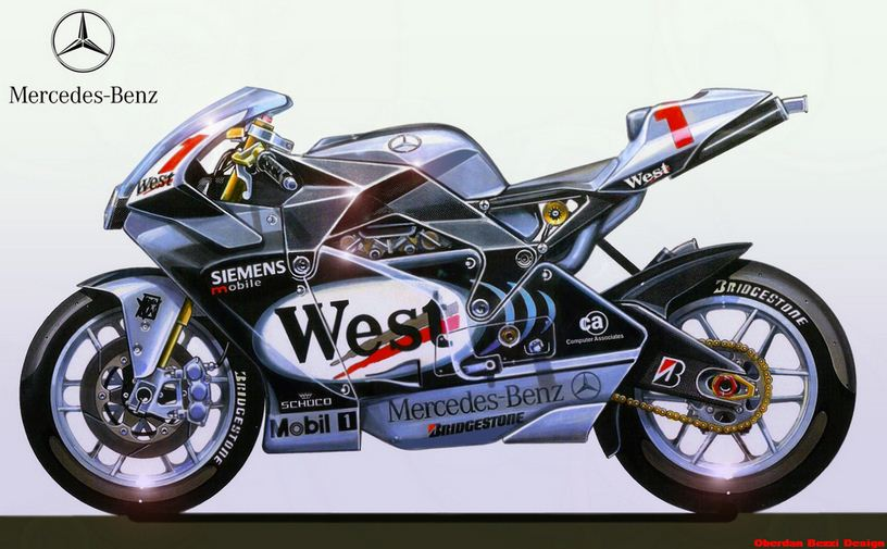 Moto gp bikes fan concepts for Mercedes benz motorcycle