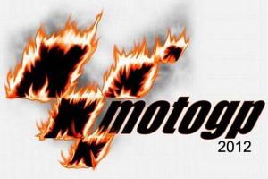 Burning Moto GP 2012 Logo