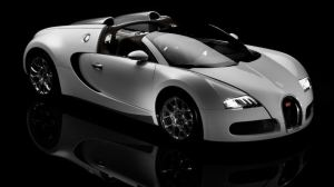 Veyron Grand sport with roof open