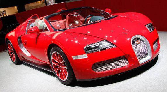 Bugatti Veyron Grand Sport Special Editon Cars