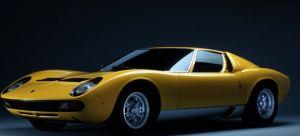 Yellow coor Lamborghini Miura